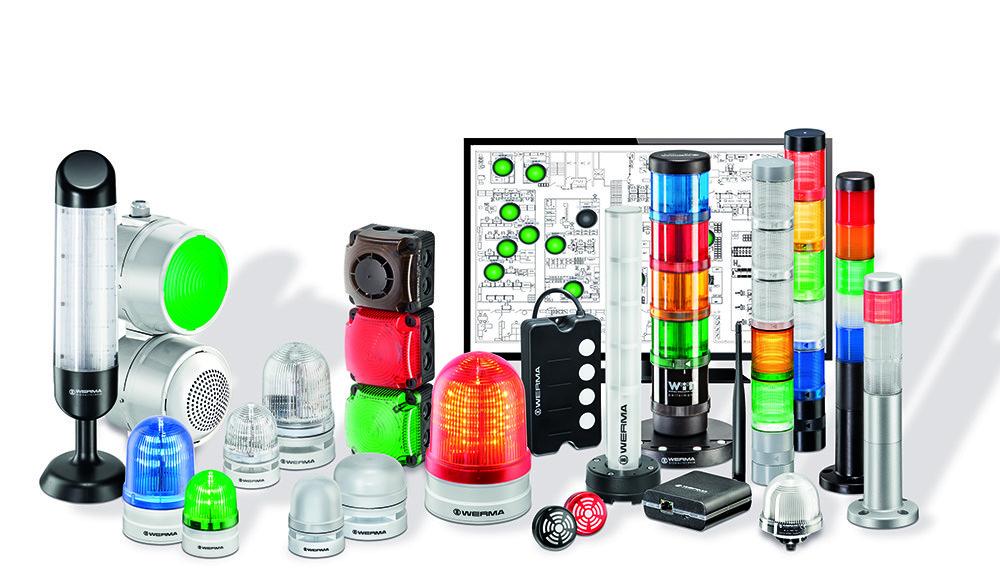 Líder mundial em dispositivos de sinalização sonora e visual.